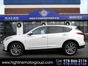 2020 Acura RDX for sale at Highline Group Motorsports in Lowell MA