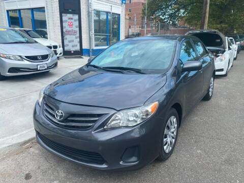 2013 Toyota Corolla for sale at DEALS ON WHEELS in Newark NJ