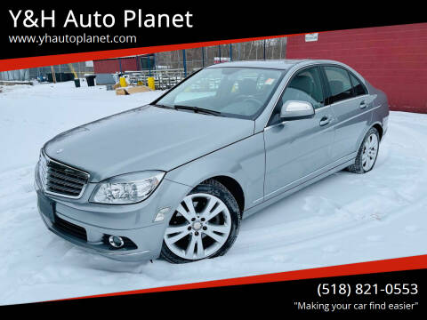 2009 Mercedes-Benz C-Class for sale at Y&H Auto Planet in West Sand Lake NY