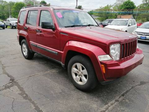 2012 Jeep Liberty for sale at KRIS RADIO QUALITY KARS INC in Mansfield OH