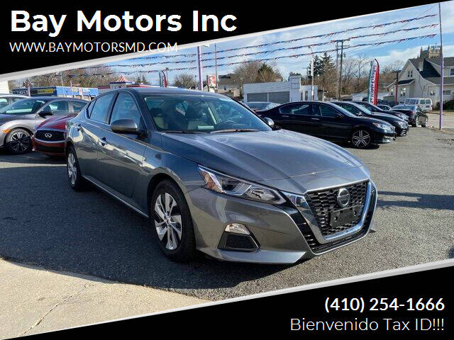 2019 Nissan Altima for sale at Bay Motors Inc in Baltimore MD