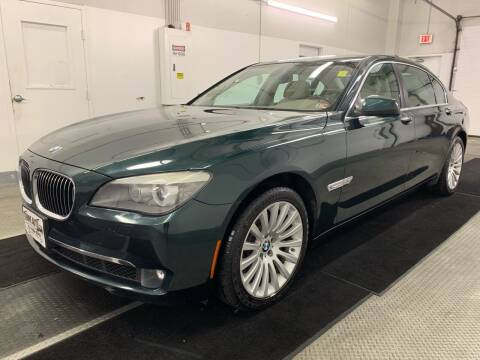 2012 BMW 7 Series for sale at TOWNE AUTO BROKERS in Virginia Beach VA