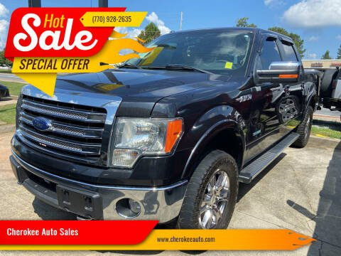 2014 Ford F-150 for sale at Cherokee Auto Sales in Acworth GA