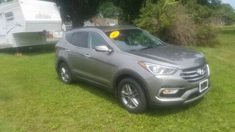 2017 Hyundai Santa Fe Sport for sale at JERRY SIMON AUTO SALES in Cambridge NY