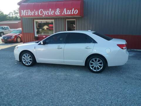 2011 Lincoln MKZ for sale at MIKE'S CYCLE & AUTO in Connersville IN