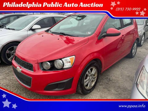 2012 Chevrolet Sonic for sale at Philadelphia Public Auto Auction in Philadelphia PA