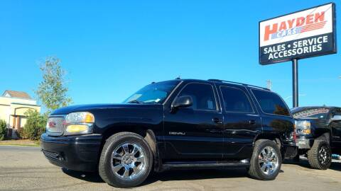 2005 GMC Yukon for sale at Hayden Cars in Coeur D Alene ID