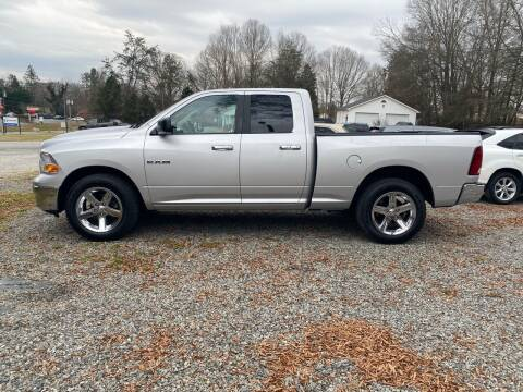 2010 Dodge Ram Pickup 1500 for sale at Venable & Son Auto Sales in Walnut Cove NC