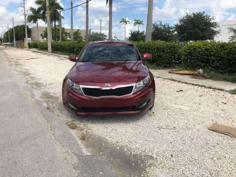 2013 Kia Optima for sale at Auto Credit & Finance Corp. in Miami FL