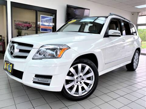 2011 Mercedes-Benz GLK for sale at SAINT CHARLES MOTORCARS in Saint Charles IL