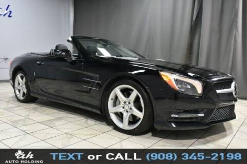 2015 Mercedes-Benz SL-Class for sale at AUTO HOLDING in Hillside NJ