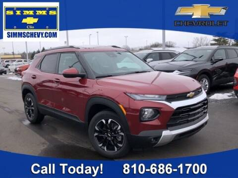 2021 Chevrolet TrailBlazer for sale at Aaron Adams @ Simms Chevrolet in Clio MI