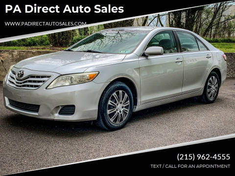 2010 Toyota Camry for sale at PA Direct Auto Sales in Levittown PA