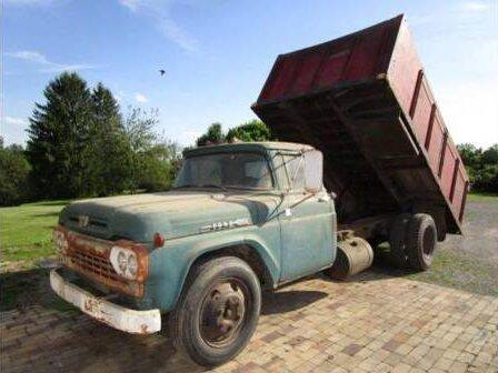 1958 Ford F-600 for sale at Classic Car Deals in Cadillac MI
