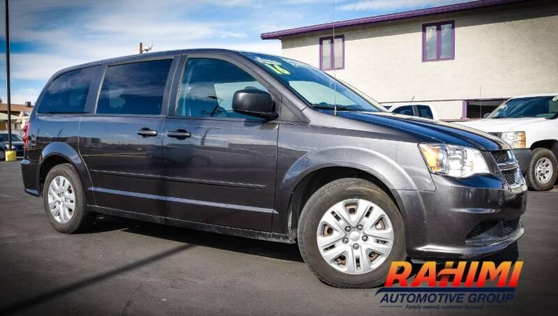 2016 Dodge Grand Caravan for sale at Rahimi Automotive Group in Yuma AZ