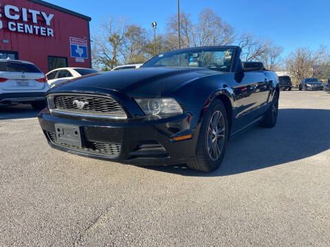 2014 Ford Mustang for sale at Space City Auto Center in Houston TX