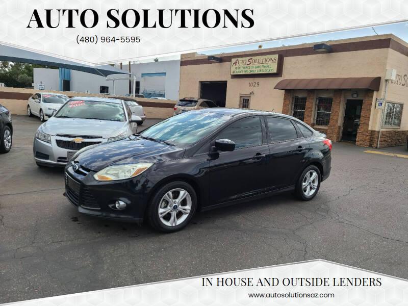 2012 Ford Focus SE 4dr Sedan - Mesa AZ