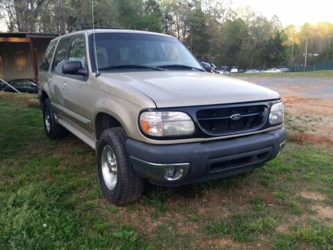 2000 Ford Explorer for sale at NRP Autos in Cherryville NC