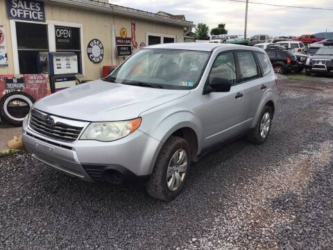 2009 Subaru Forester for sale at Troys Auto Sales in Dornsife PA