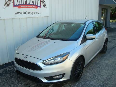 2016 Ford Focus for sale at Team Knipmeyer in Beardstown IL