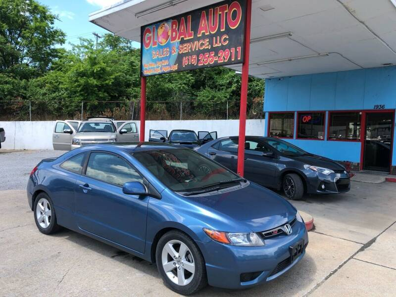 2008 Honda Civic for sale at Global Auto Sales and Service in Nashville TN