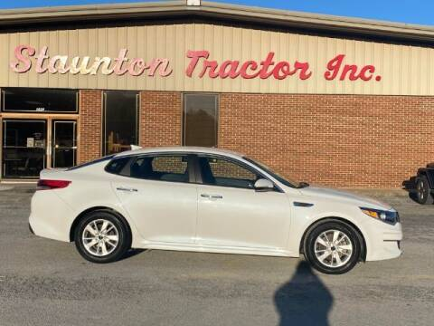 2016 Kia Optima for sale at STAUNTON TRACTOR INC in Staunton VA