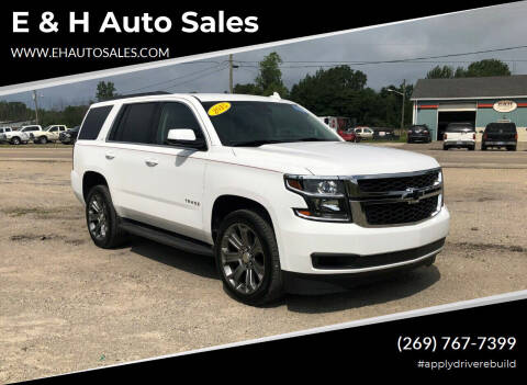2015 Chevrolet Tahoe for sale at E & H Auto Sales in South Haven MI