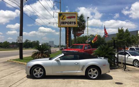 2012 Chevrolet Camaro for sale at A to Z IMPORTS in Metairie LA