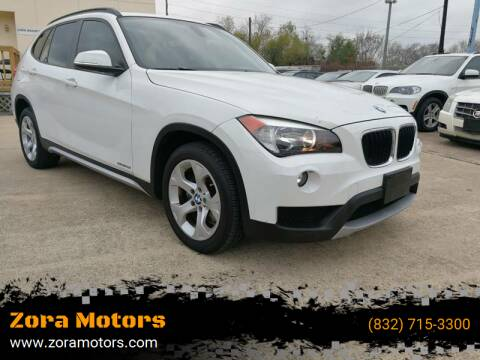 2014 BMW X1 for sale at Zora Motors in Houston TX