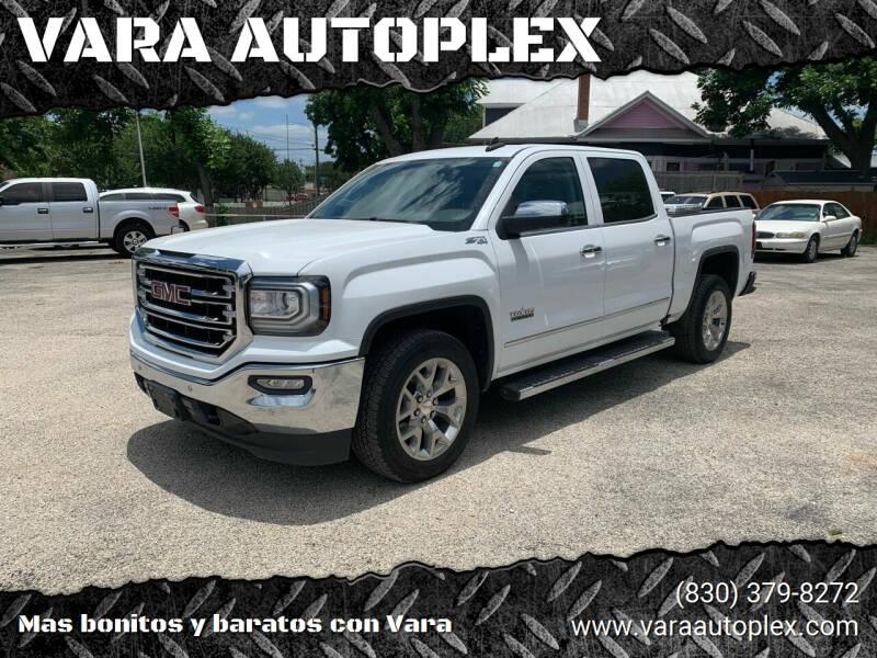 2018 GMC Sierra 1500 for sale at VARA AUTOPLEX in Seguin TX