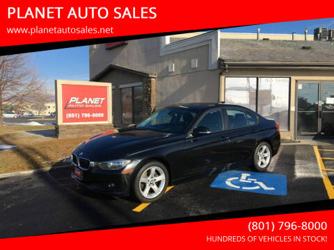 2014 BMW 3 Series for sale at PLANET AUTO SALES in Lindon UT
