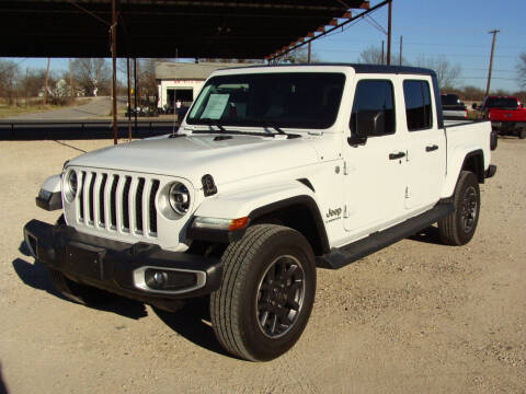 2020 Jeep Gladiator for sale at Texas Truck Deals in Corsicana TX
