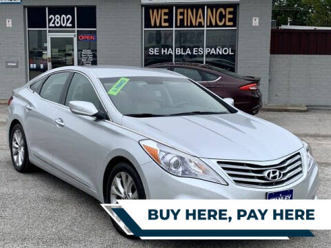 2014 Hyundai Azera for sale at Stanley Direct Auto in Mesquite TX