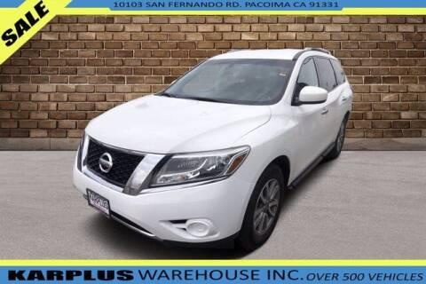 2016 Nissan Pathfinder for sale at Karplus Warehouse in Pacoima CA