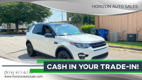 2016 Land Rover Discovery Sport for sale at Horizon Auto Sales in Raleigh NC