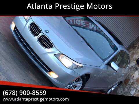 2009 BMW 5 Series for sale at Atlanta Prestige Motors in Decatur GA