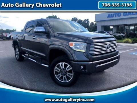 2015 Toyota Tundra for sale at Auto Gallery Chevrolet in Commerce GA