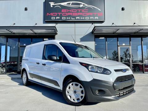 2016 Ford Transit Connect Cargo for sale at Exotic Motorsports of Oklahoma in Edmond OK