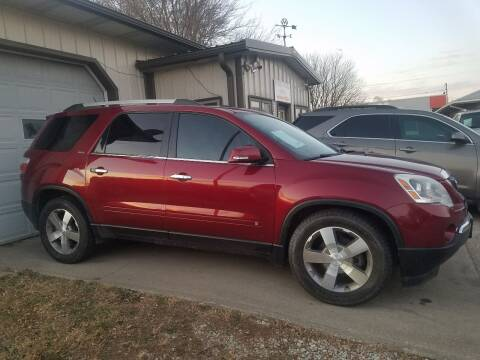 2010 GMC Acadia for sale at RIVERSIDE AUTO SALES in Sioux City IA