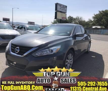 2018 Nissan Altima for sale at Top Gun Auto Sales, LLC in Albuquerque NM