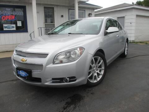 2012 Chevrolet Malibu for sale at Blue Arrow Motors in Coal City IL