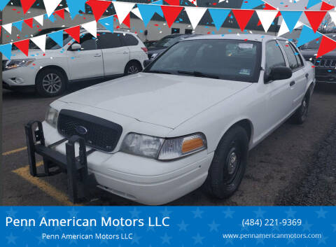 2008 Ford Crown Victoria for sale at Penn American Motors LLC in Allentown PA