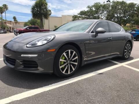 2016 Porsche Panamera for sale at Florida Coach Trader Inc in Tampa FL