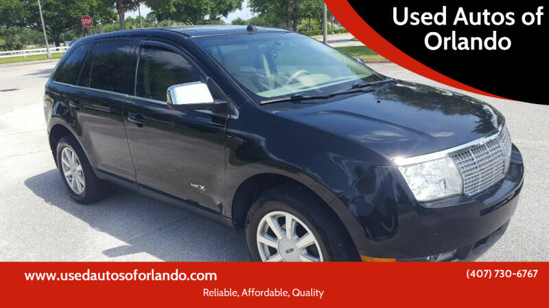 2007 Lincoln MKX for sale at Used Autos of Orlando in Orlando FL