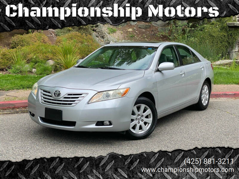 2007 Toyota Camry for sale at Championship Motors in Redmond WA