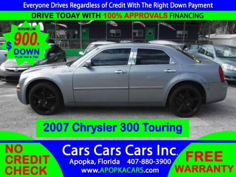2007 Chrysler 300 for sale at CARS CARS CARS INC in Apopka FL