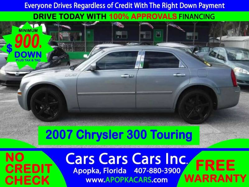 2007 Chrysler 300 for sale at CARS CARS CARS INC in Apopka FL