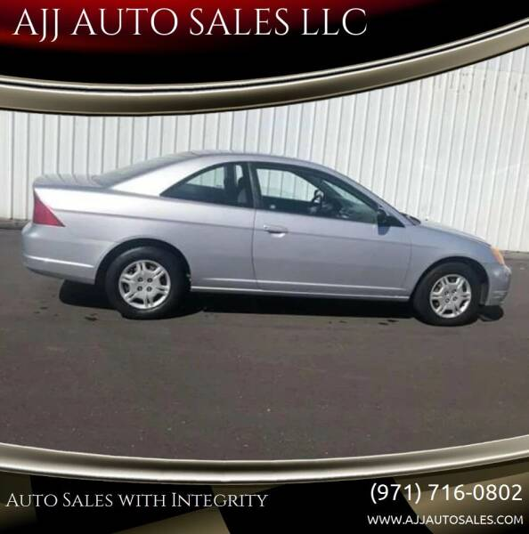 2002 Honda Civic for sale at McMinnville Auto Sales LLC in Mcminnville OR