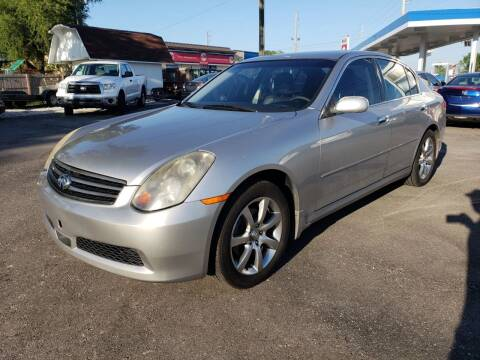 2005 Infiniti G35 for sale at Nonstop Motors in Indianapolis IN