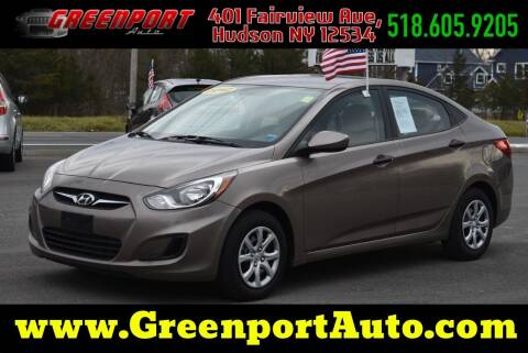 2012 Hyundai Accent for sale at GREENPORT AUTO in Hudson NY